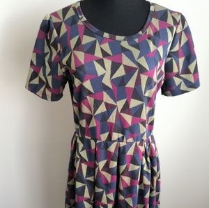 LuLaRoe Amelia Dress XL GUC